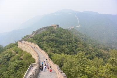 Chinese muur Zijderoute